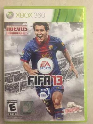 Juego Para Xbox 360, Usado, Original Fifa 13