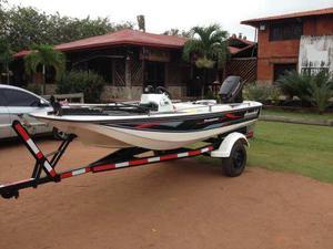 Lancha De Fibra Bote Pesca Deportiva