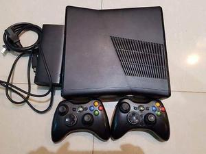 Xbox 360 Sin 320 Gb Chip Lt 3.0 + 2 Controles + 20 Juegos