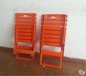 sillas de playa