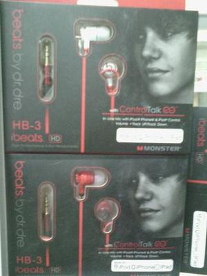 Audifonos Beats Hb-3 By Dr.dre, Cable Redondo, Buena Calidad