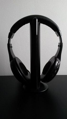 Audifonos Inalambricos Para Tv Pc Sonido Juegos Radio Fm Mp3