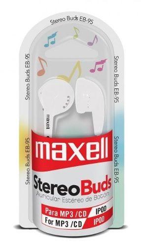 Audifonos Maxell Stereo Buds Modelo Eb-95