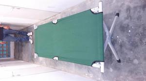 Mesa plegable camping posot class for Cama individual metalica