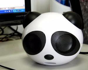 Corneta Panda Speaker Micro Sd, Usb, Plug 3.5mm, Fm, Mp3