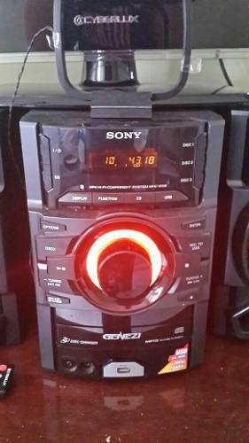 Equipo De Sonido Genezi Sony, Con Capacidad Para 3 Cd, Pue