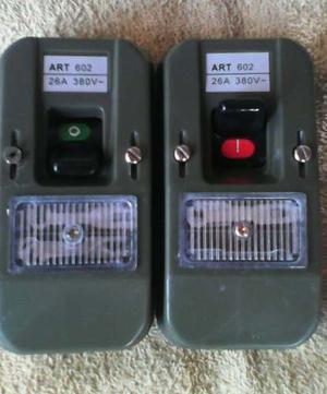 Interruptor Bipolar Breaker Tipo Ticsino  Amp 380volt