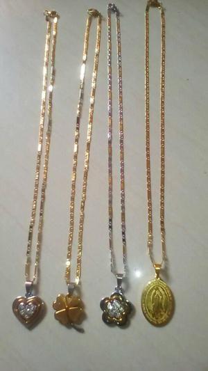 Cadenas de Acero con oro Chino