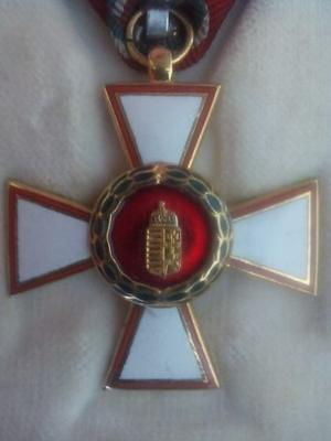 ** Condecoración Cruz Del Imperio Austrohungaro **
