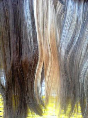 Extensiones soprano de cabello natural para rubias