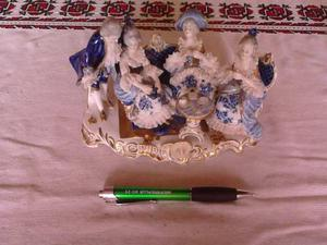 Figura De Porcelana.tarde De Te.