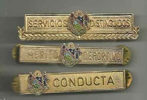 Insignia Barras Policía Y Gobernación Estado Delta Amacuro
