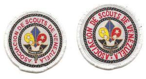 Insignia Scouts De Venezuela Antiguas Galletas 2 Variantes.