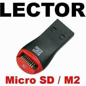 Lector De Memorias Micro Sd A Usb 2.0 Adaptador De Tarjetas
