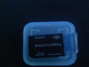 Memoria Sony Pro Duo 2gb Magic Gate