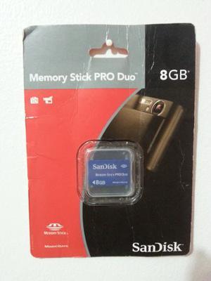 Memory Stick Pro Duo. Sandisk - 8gb