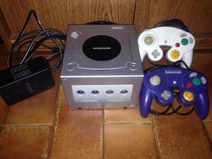 Nintendo Gamecube Chipeado Con Lector De Cd Desgraduado
