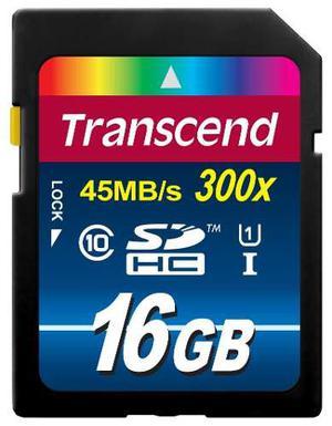 Tarjeta De Memoria Transcend Sd Clase 10 (premium) 16gb