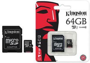 Tarjeta Micro Sd Kingston 64 Gb Generica