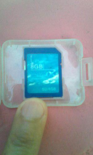 Tarjeta Sd 8gb Nueva Point Technology