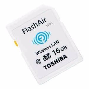 Tarjeta Sd Hc Wifi Toshiba Flashair 16gb