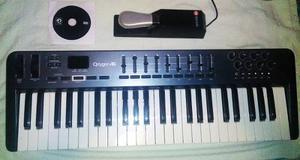 Controlador Midi M Audio Oxygen 49 Blue 3ra Generación