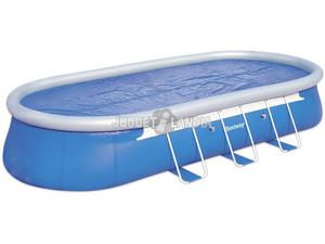 Piscina inflable familiar bestway 269 x 175 x 51 posot class for Piscina inflable bestway