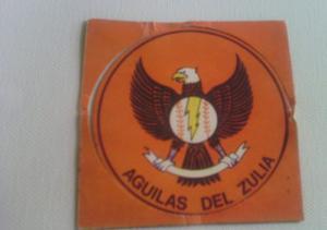 Aguilas Del Zulia Calcomania De Los Años 80