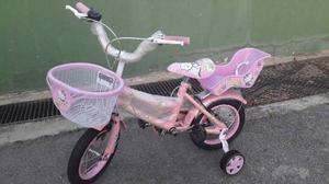 Bicicleta Nueva Rin 12 Para Niñas Hello Kitty
