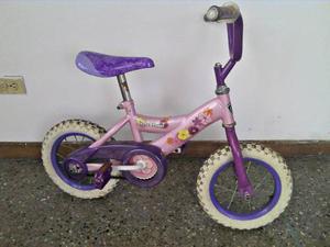 Bicicleta Para Niña Rin 12 En Con Ruedas De Apoyo