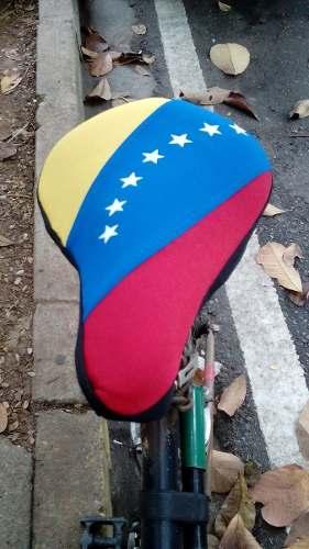 Forros De Asiento Para Bicicleta Con La Bandera De Venezuela