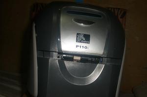 Impresora De Carnet Pvc Zebra Pvc P110 (Solo Para Repuesto)