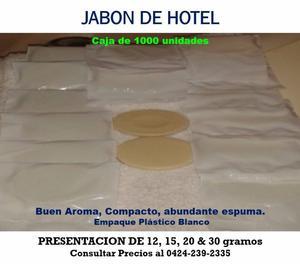 JABON DE TOCADOR AROMA CAMAY ó de AVENA,