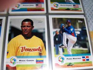 Topps Sets Clasico Mundia Baseball Coleccion Miguel Cabrera