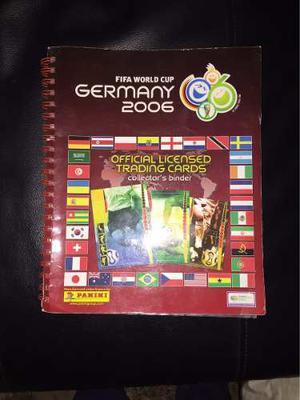 Álbum De Tarjetas Panini Mundial De Fútbol Alemania