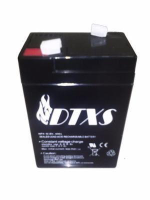 Bateria Pila 6 V 4 A Lampara De Emergencia. I.v.a Incluido.
