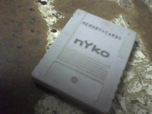 Memori Card De Playstation 1 En Perfectas Condicciones