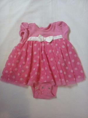 Vestido Para Niña-bebé De 6 A 9 Meses, Marca Disney