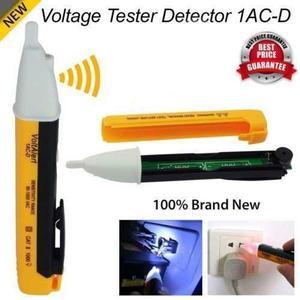 Detector De Voltaje Sin Contacto Con Luz Led, Lapiz Detector