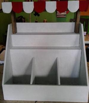 Dispensador Tipo Kiosko Exhibidor Para Golosinas Candy Bar