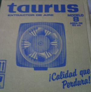 Extractor De Aire Taurus De 8 Metal