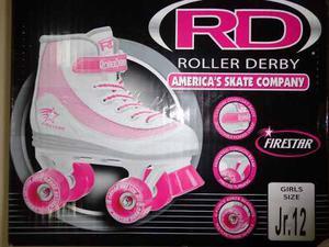 Patines Roller Derby Talla 31 Soy Luna Cuatro Ruedas