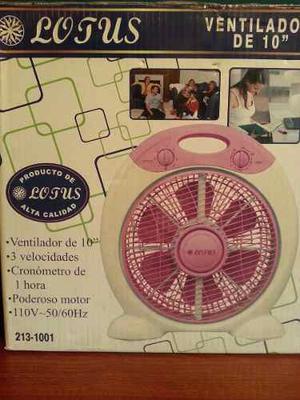 Ventilador De Mesa 10' Lotus Producto De Alta Calidad