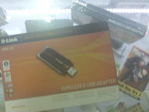Antena Adaptador Receptor De Wi Fi Usb D-link 150mbps