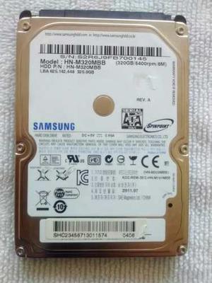 Disco Duro Para Laptop O Pc De 320 Gb Usado