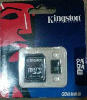 Kingston Micro Sd Nueva 16gb Con Adaptador