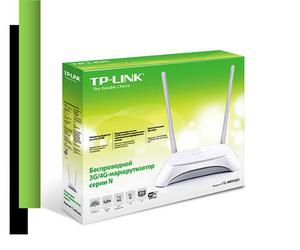 Router Wi-fi Inalambrico Tp Link 2 Antenas Tl Mr