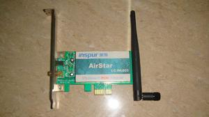 Tarjeta De Red Inalambrica Wifi Airstar Lc-w803 Pcie
