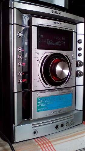 Equipo De Sonido Sony Genezi 4 Cajones