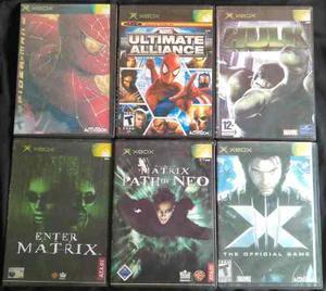 Juegos De Xbox Clásico. (copias)